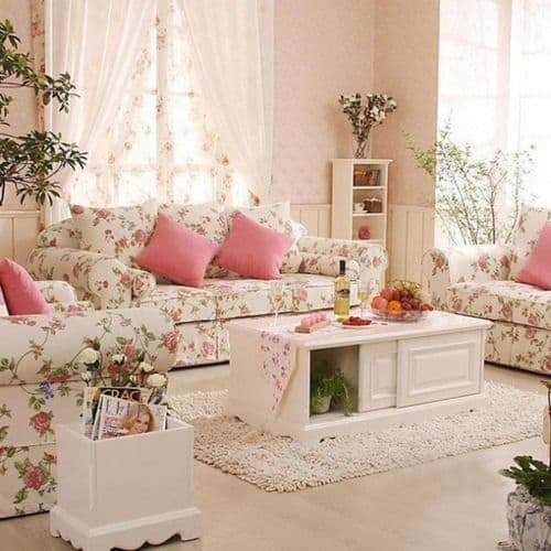 Unique Shabby Chic Living Room Ideas Decor