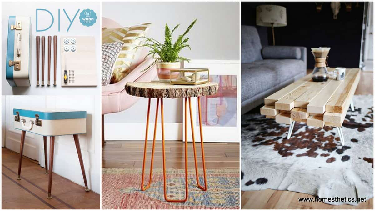 15+ Beautiful Cheap DIY Coffee Table Ideas