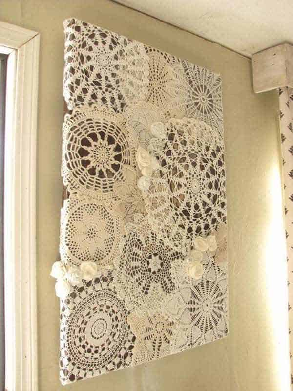 v22 Charming and Beautiful Lace DIY Projects to Realize at Home homesthetics decor (17)