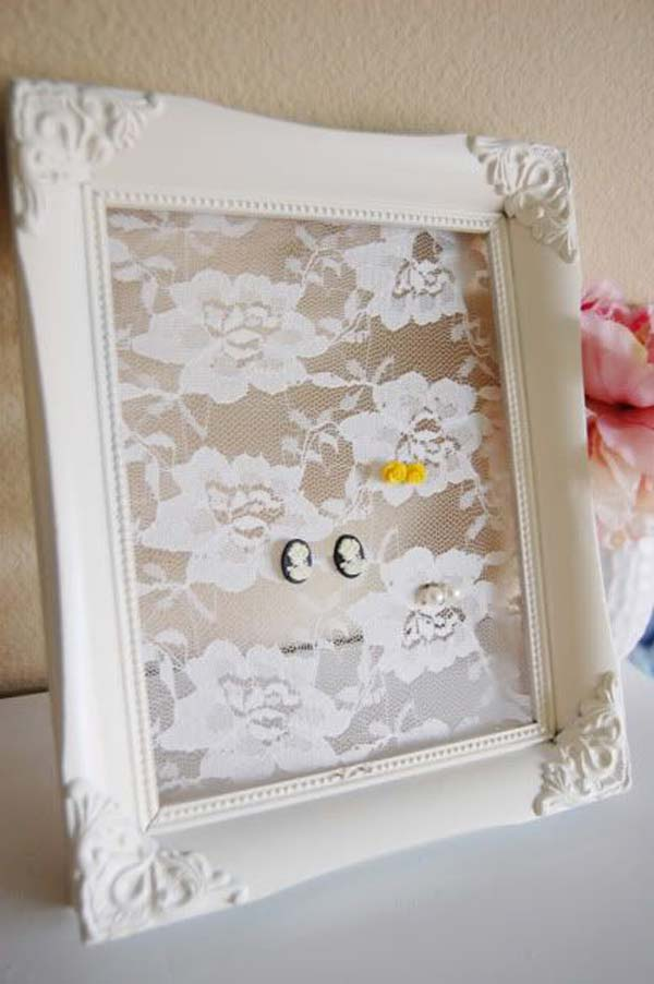 22 Charming and Beautiful Lace DIY Projects to Realize at Home