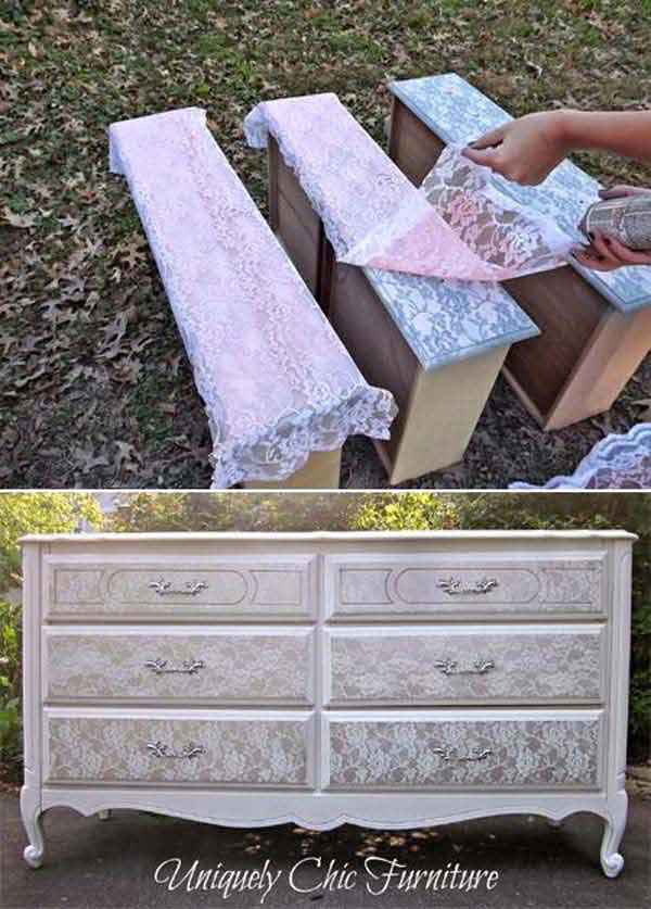 v22 Charming and Beautiful Lace DIY Projects to Realize at Home homesthetics decor (6)