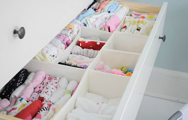 12 Ingenious Space Saving Tips and Tricks For Small Nursery homesthetics design (10)