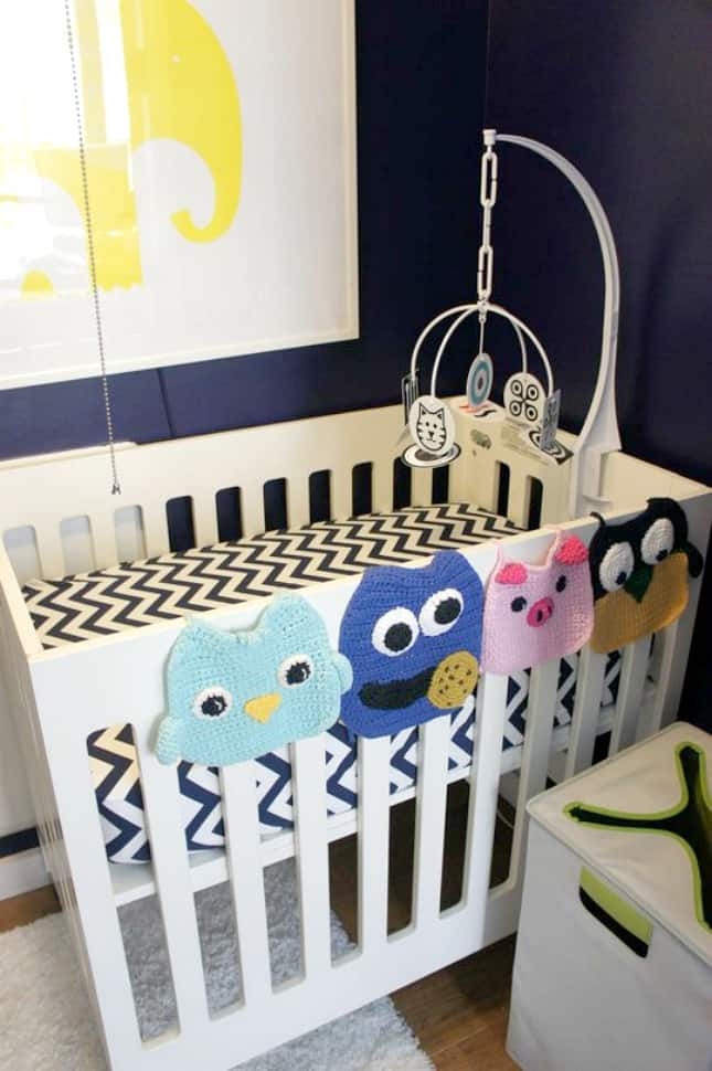 12 Ingenious Space Saving Tips and Tricks For Small Nursery homesthetics design (11)