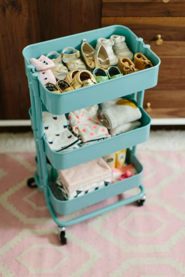 12 Ingenious Space Saving Tips and Tricks For Small Nursery homesthetics design (2)
