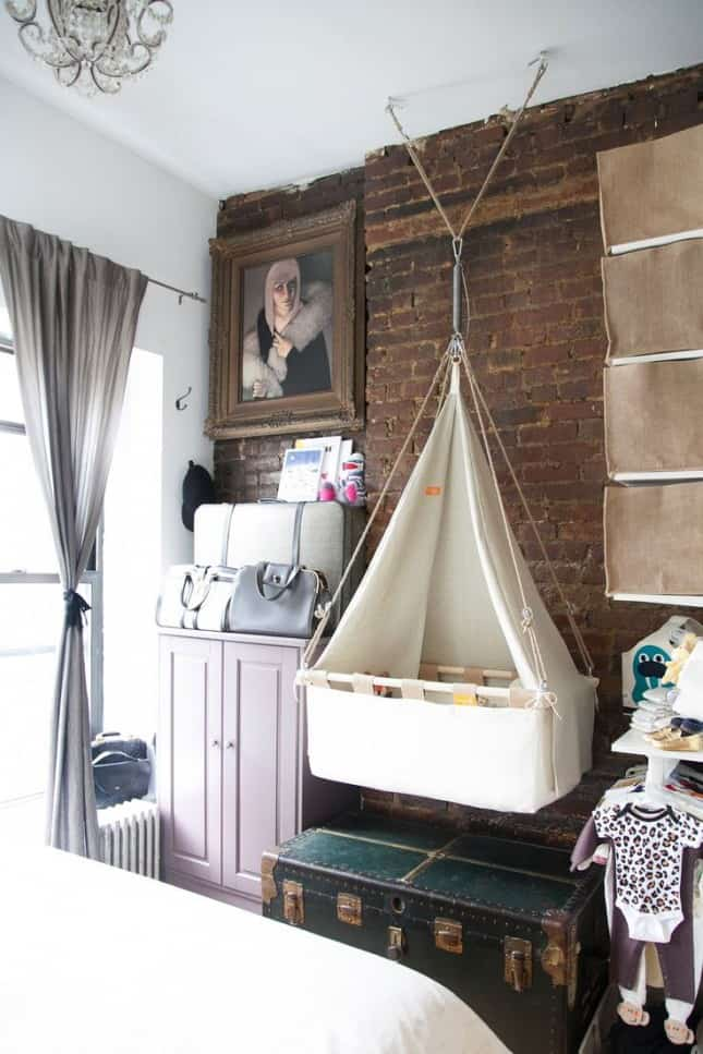 12 Ingenious Space Saving Tips and Tricks For Small Nursery homesthetics design (8)