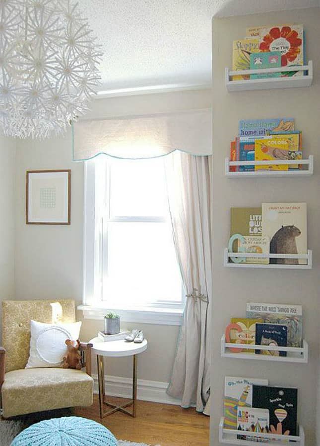 12 Ingenious Space Saving Tips and Tricks For Small Nursery homesthetics design (9)