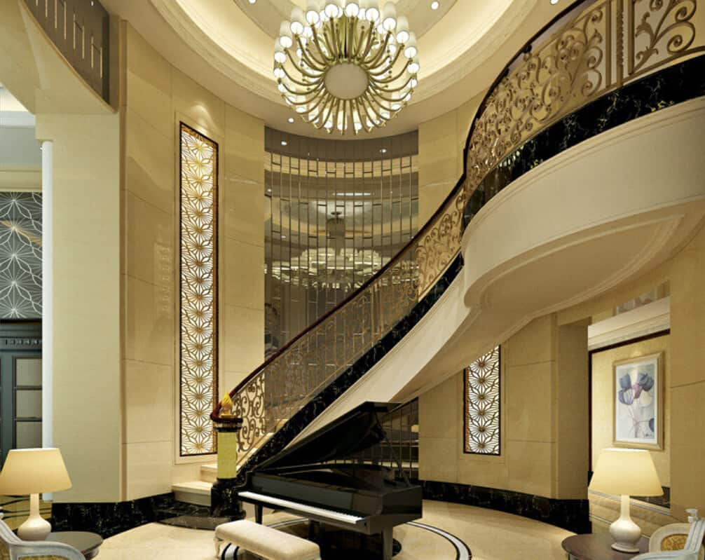 16 Awesome Mansion Staircases Perfect For Your Dream Home (17)