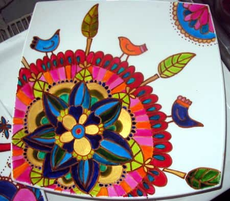 15 do it yourself pottery painting ideas you can actually use for Clay mural designs