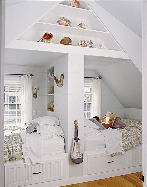 21 Fun And Interesting Ways To Turn An Old Attic Into A Decorative Functional Room (18)