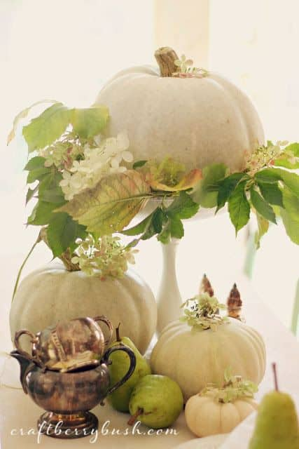 21 Charming White Pumpkin Fall Decorations For Your Household homesthetics decor (11)