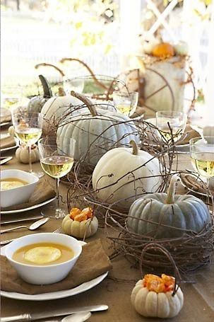 21 Charming White Pumpkin Fall Decorations For Your Household homesthetics decor (13)