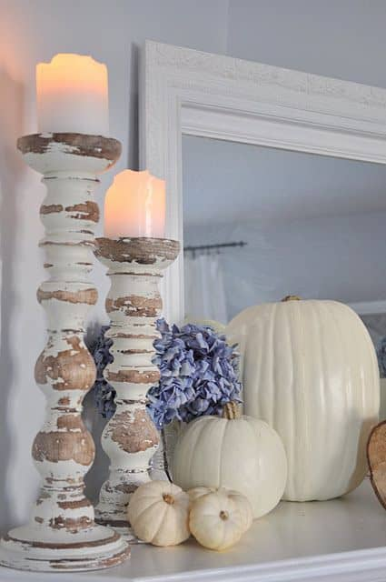 21 Charming White Pumpkin Fall Decorations For Your Household homesthetics decor (7)