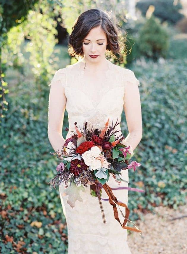#23 fall classics bridal bouquet