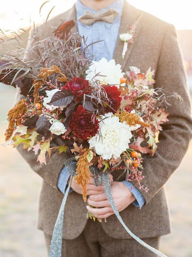#7 the turning leaves bridal bouquet