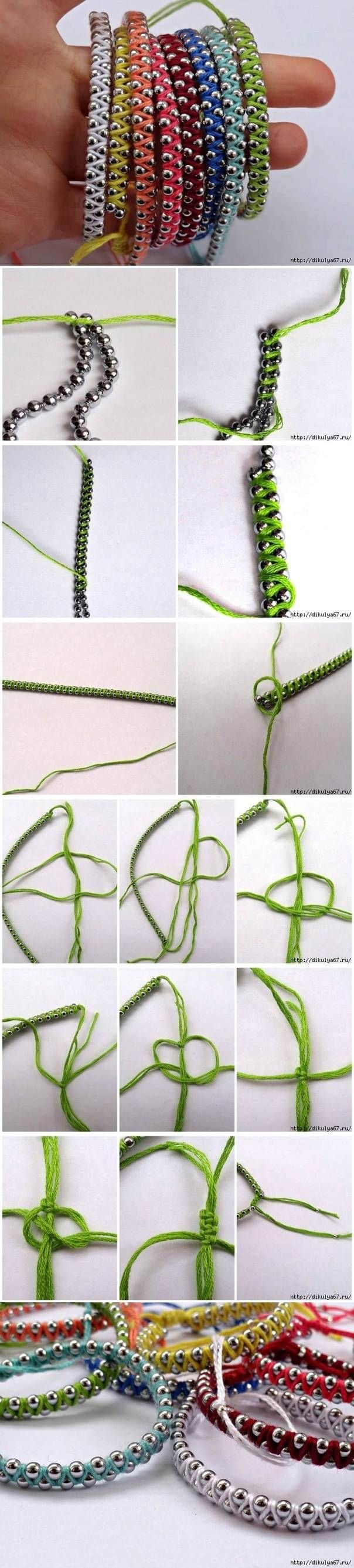 #12 MAKE AND SELL DIY MULTI-COLORED FRIENDSHIP BRACELETS