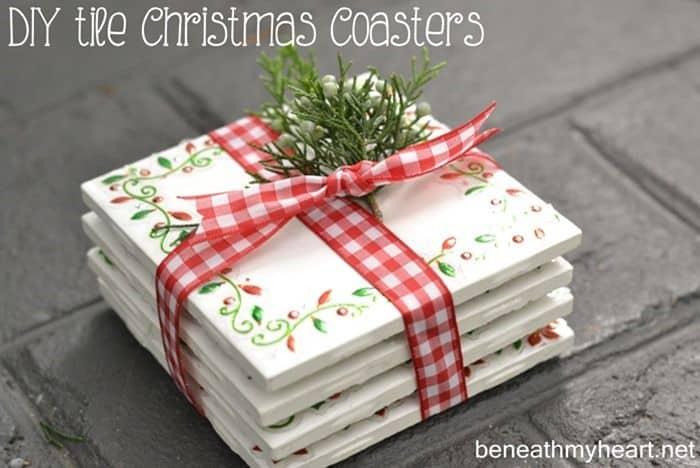 7 make and sell coasters right from your shelter - Christmas Decorations To Make And Sell