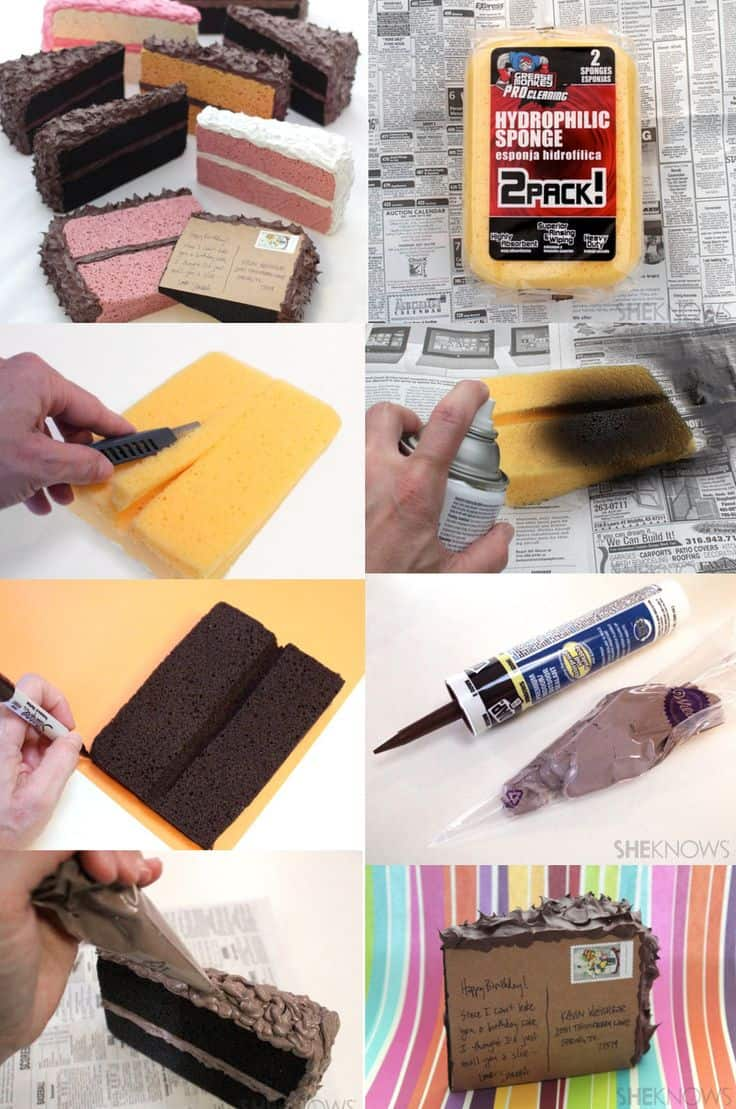#1 MAKE YOUR OWN MAIL-ABLE SLICE CAKE