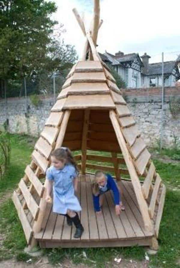#3 A SMALL WOODEN TENT CAN SHELTER INFINITE MOMENTS OF JOY AND HAPPINESS