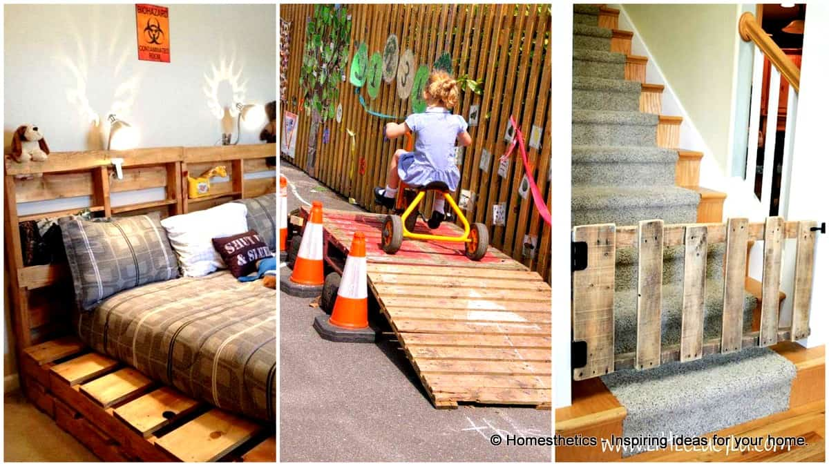 26 Highly Ingenious Cost Efficient Pallet Diy Projects For