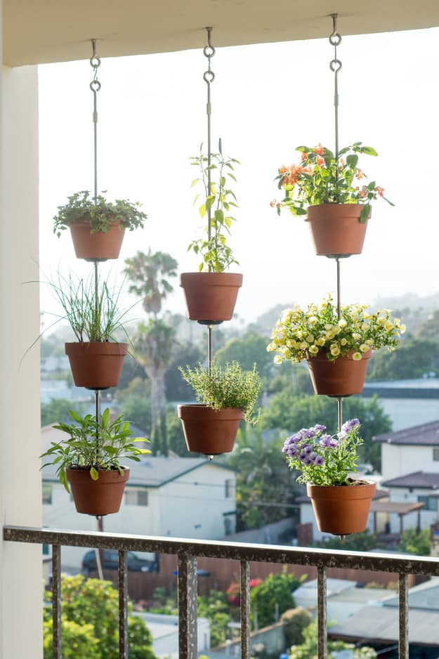 29 Hanging Flower Pot Plant Ideas To Enhance Your Verandah And Home Surroundings (10)