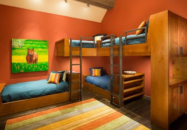 38 great double decker bed ideas you and your kids will love for Double deck bed images