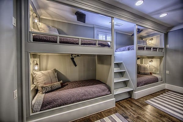 #27 LOVE THIS DOUBLE DECKER ROOM IDEA BECAUSE OF THE AMOUNT OF SPACE FOR THE