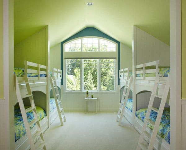 #30 EIGHT IS ENOUGH IN THIS DOUBLE DECKER BEDROOM IDEA FOR YOUR KIDS