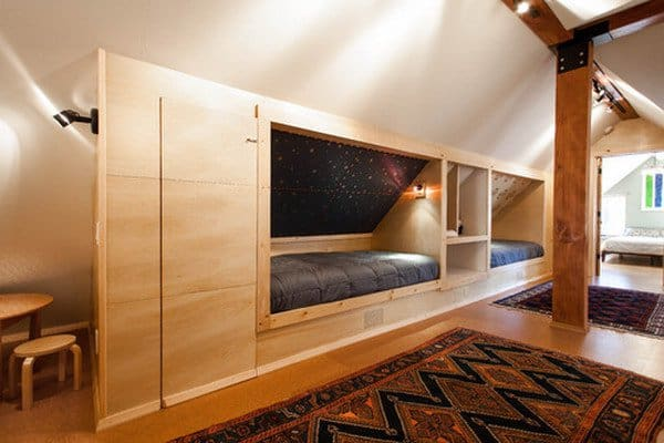 #32 DOUBLE SIDE DECKER BEDS - LOOKS LIKE A GREAT PLACE TO BUNK UP WITH A SIBLING OR FRIEND