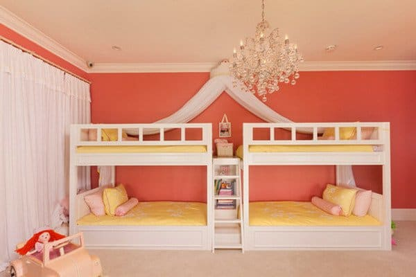 #6 LOVE THE PAINT COLOR IN THIS DOUBLE   DECKER BEDROOM