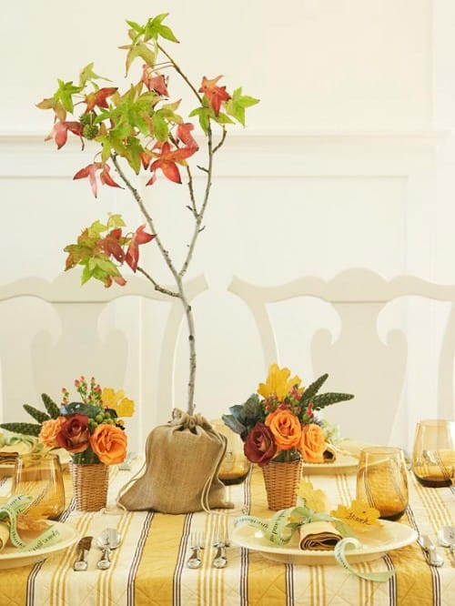 30 Thanksgiving Centerpieces Ideas For Your Home Decor This Fall (19)