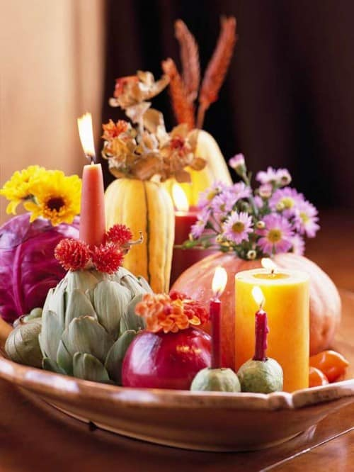 30 Thanksgiving Centerpieces Ideas For Your Home Decor This Fall (22)