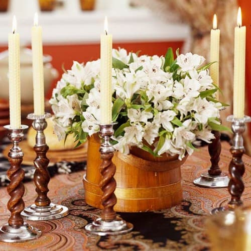 27 Thanksgiving Centerpieces Ideas For Your Home Decor This Fall (27)