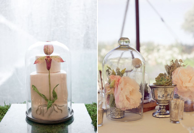 31 Simply Breathtaking Cloche And Bell Jar Decorating