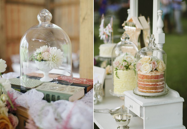 32 Simply Breathtaking Cloche and Bell Jar Decorating Ideas For Magical Weddings homesthetics decor ideas (13)
