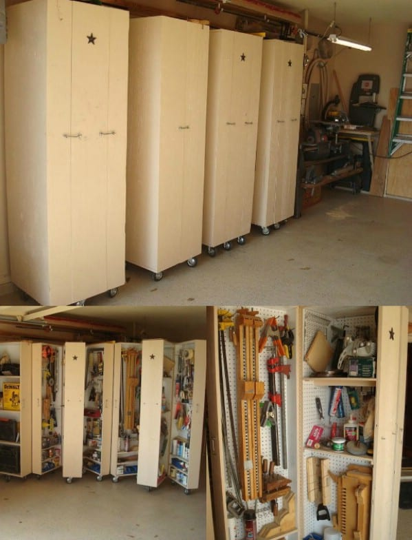 24 smart garage organization do it yourself projects to do this fall 40 smart garage organization do it yourself projects 9 solutioingenieria Image collections