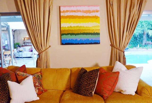 #3 COLORFUL WALL ART CRAFT