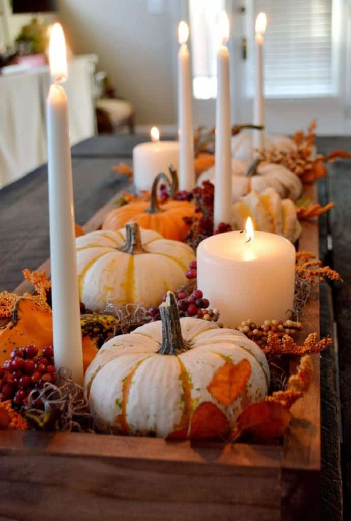 Charming Fall DIY Centerpieces Projects Ready to Beautify Your Home homesthetics decor (10)