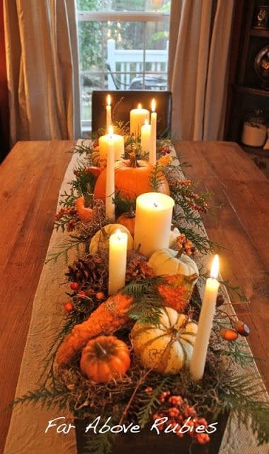 Charming Fall DIY Centerpieces Projects Ready to Beautify Your Home homesthetics decor (11)