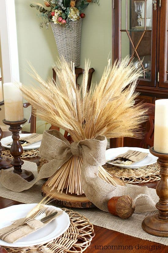 Charming Fall DIY Centerpieces Projects Ready to Beautify Your Home homesthetics decor (21)