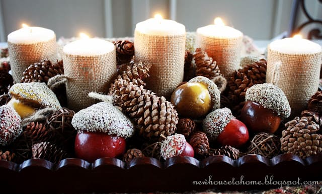 Charming Fall DIY Centerpieces Projects Ready to Beautify Your Home homesthetics decor (22)