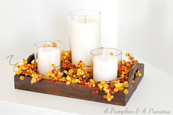 Charming Fall DIY Centerpieces Projects Ready to Beautify Your Home homesthetics decor (5)