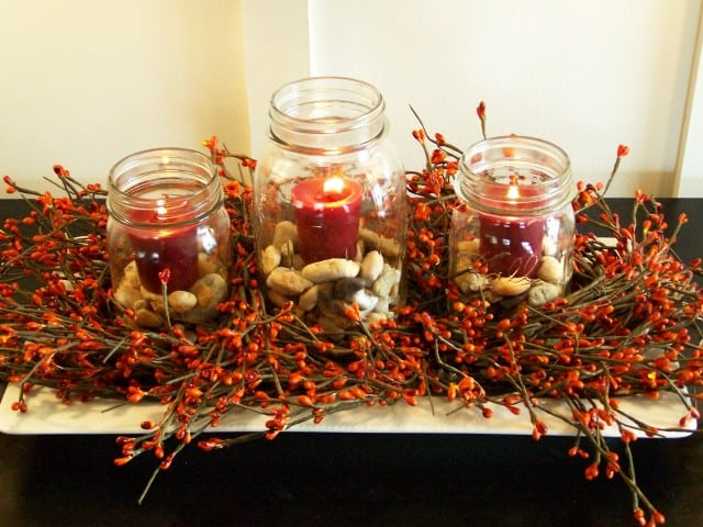 Charming Fall DIY Centerpieces Projects Ready to Beautify Your Home homesthetics decor (8)