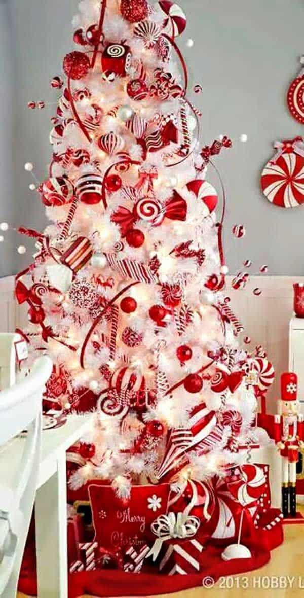 christmas tree ideas 9 - Pictures Of White Christmas Trees Decorated