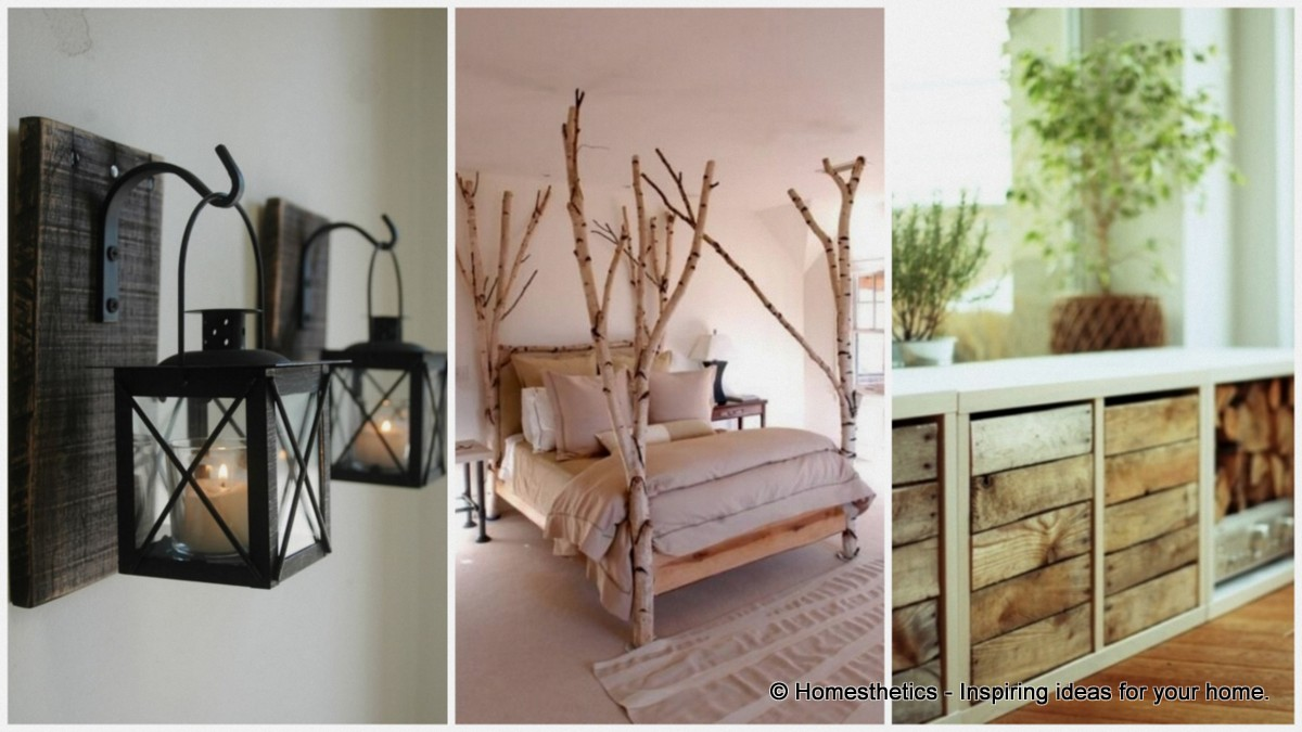 28 rustic decorating ideas for your home this fall - Home decor ideas for small homes ...