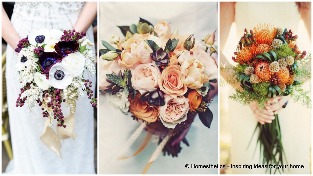 25 Of The Most Gorgeous Bridal Bouquets For An Autumn Wedding