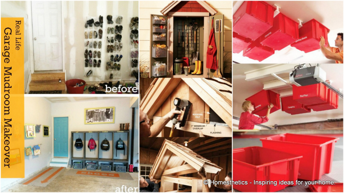 24 smart garage organization do it yourself projects to do this fall 24 smart garage organization do it yourself projects to do this fall in preparation for winter solutioingenieria Gallery