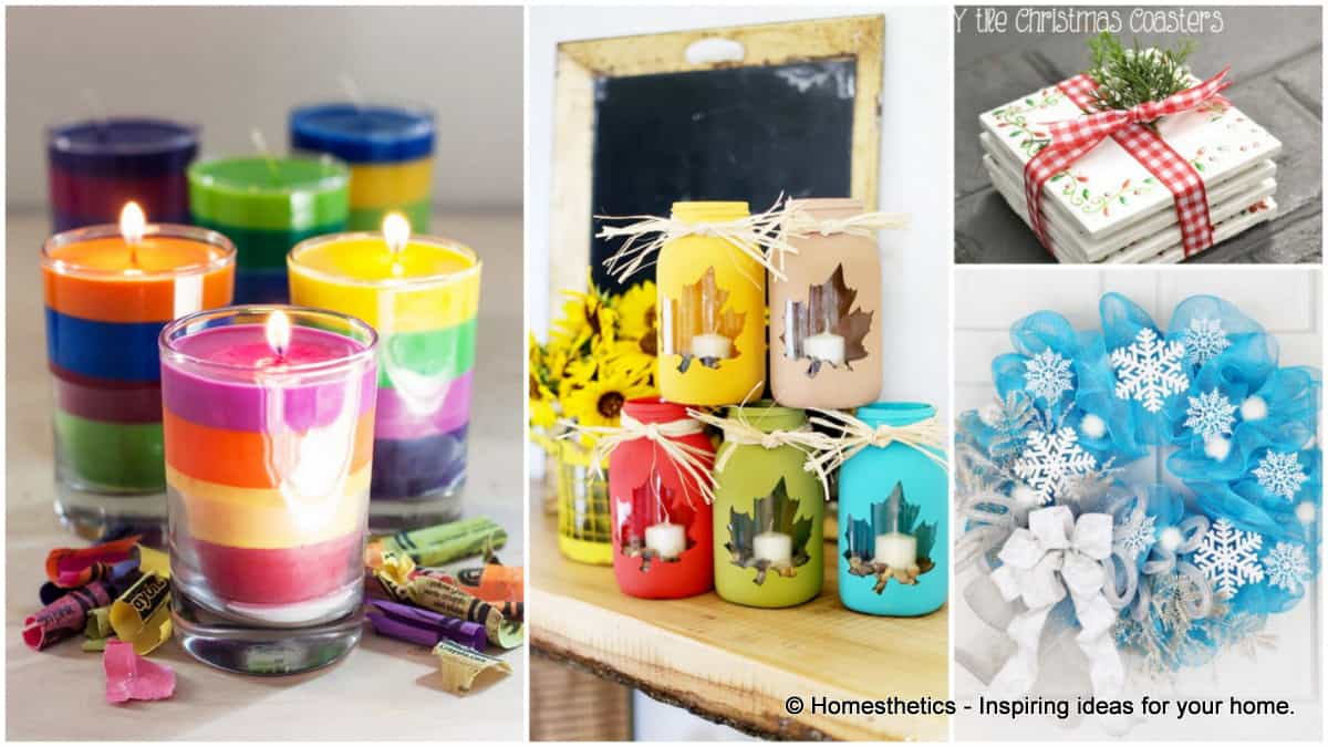 25 craft ideas you can make and sell right from the for How to make simple crafts at home