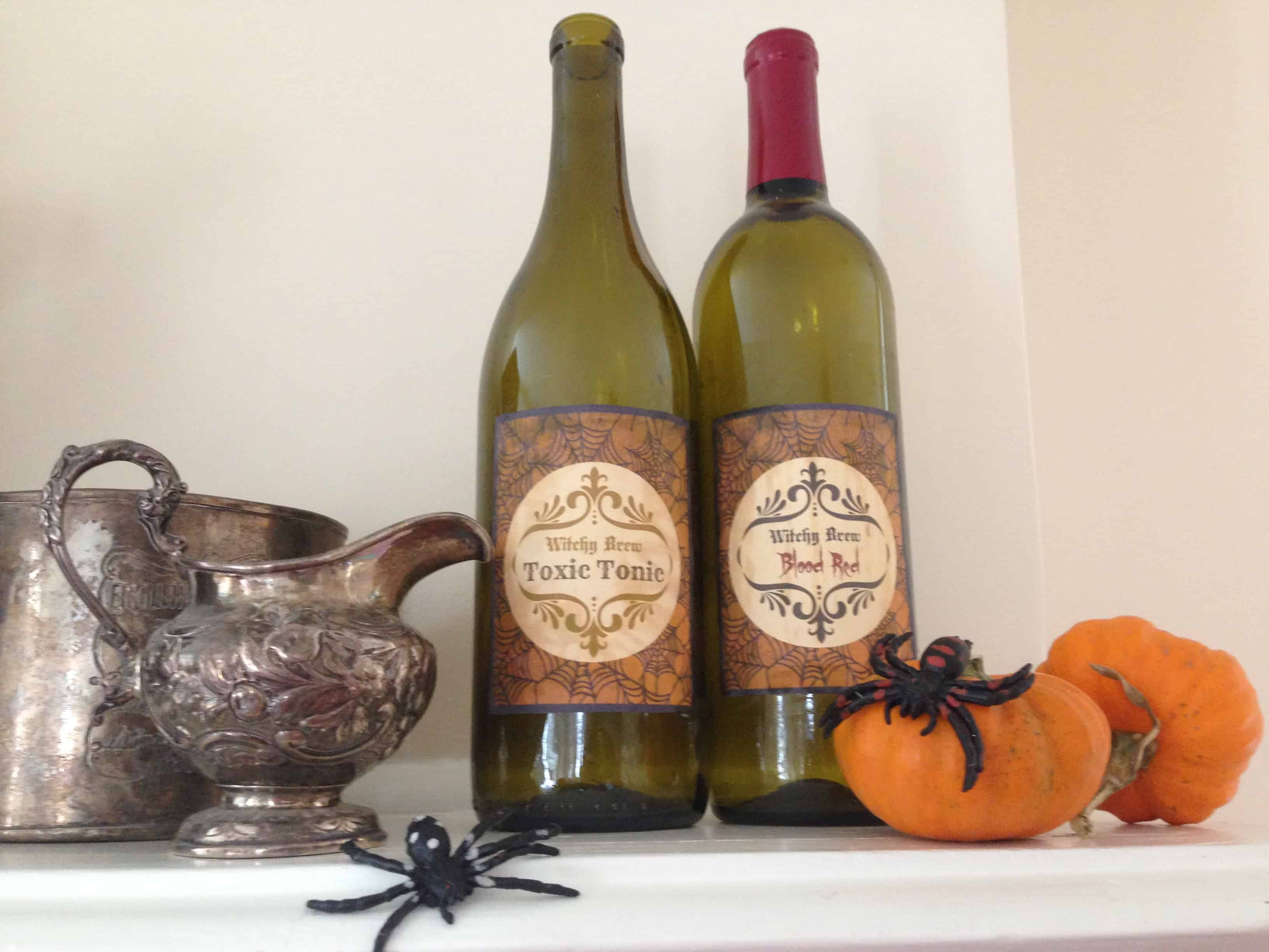 Enjoy fall with 28 creative simple wine bottle crafts for Easy wine bottle crafts
