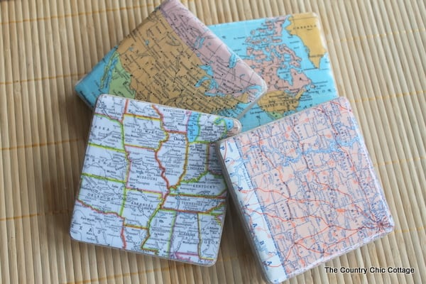 Fun And Simple Ways To Make DIY Coasters That You Can Actually Use (14)