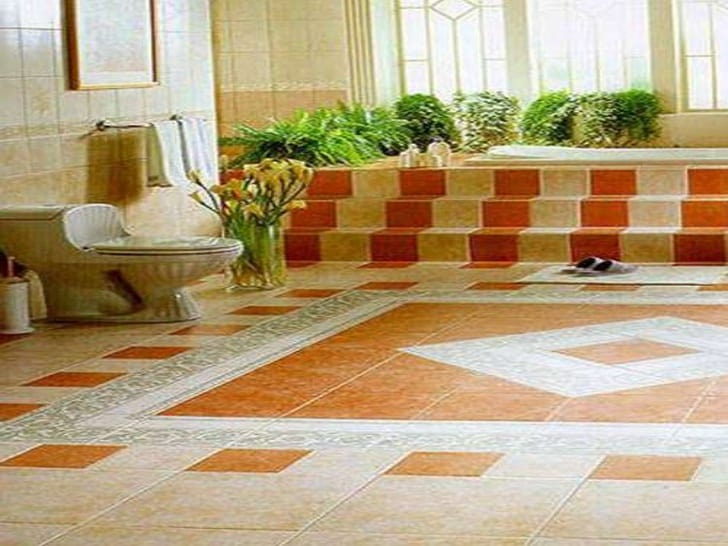 Inspiring Floor Tile Ideas For Your Living Room Home Decor 6